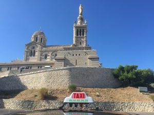 Visite de la basilique Notre Dame en taxi